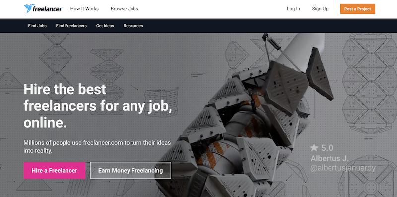 Freelancer.com PHP developer